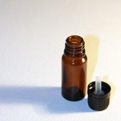 Steklenička iz rjavega stekla s kapalko 10ml